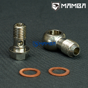Banjo Bolt Kit 6AN to M12x1.5 Turbo Water coolant VOLVO SAAB