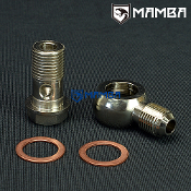 Banjo Bolt Kit 6AN to M16x1.5 Garrett T3 TB03 Hitachi HT18