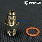Adapter fitting Kit 4AN to M12x1.25 4G63T 1~9 1.8mm Restrictor