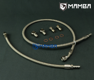 MAMBA Turbo Water Line Kit Ford Falcon BA BF XR6 FPV F6 GT3576R