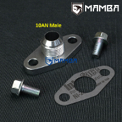 AN10 Oil Drain Flange Kit for Toyota Supra 7M-GTE Single Turbo