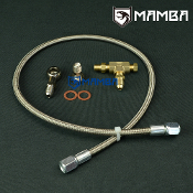 Turbo Oil Feed Line Kit M12x1.5 To Turbo 1.8mm Restrictor 100cm
