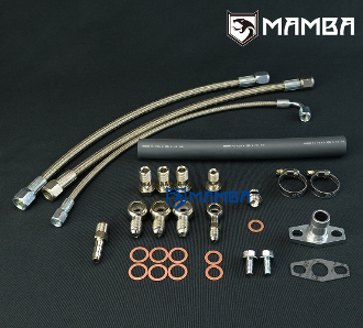 Turbo Oil Water Line Kit Top Mount NISSAN RB20DET RB25DET GT3582