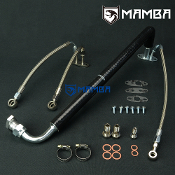MAMBA Turbo Oil&Water Line Kit For Nissan ZD30ETi 3.0L w/GT2052V